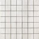 Travertini Matte 2X2 Mosaic Floor and Wall Tile 16.75X16.75 Grigio (1 Piece)